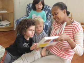 montessori preschool reading