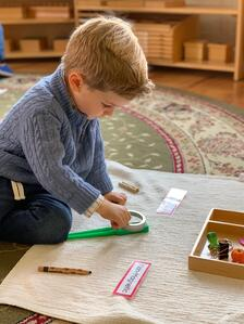 magnetic work preschool